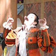 Maryland Renaissance Festival - Johnny Fox Sword Swallower - 121219 Art Print by DC Photographer