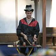 Maryland Renaissance Festival - Johnny Fox Sword Swallower - 121281 Print by DC Photographer