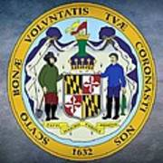 Maryland State Seal Art Print