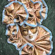 Maschera Di Carnevale Art Print