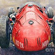 Maserati 250f Back View Art Print