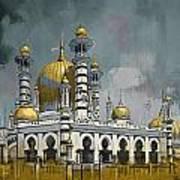 Masjid Ubudiah Art Print