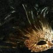 Mask Of Evening Art Print