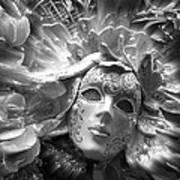 Masked Angel Art Print