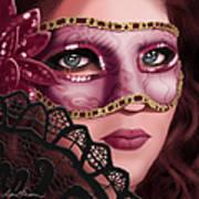 Masked II Art Print