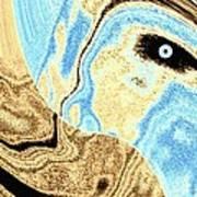 Masked- Man Abstract Art Print