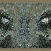 Maskeye Art Print