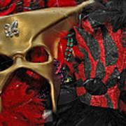 Masks Art Print