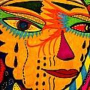 Masks We Wear - Face Art Print