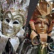 Masquerade Craziness Art Print