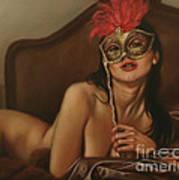 Masquerade I Art Print by John Silver