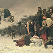 Massacre Of Glencoe, 1883-86 Art Print