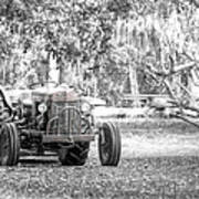 Massey Ferguson Tractor Art Print