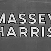 Massey Harris Art Print