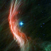 Massive Star Makes Waves Art Print