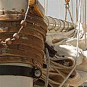 Mast Hoops II Art Print
