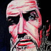 Master Of The Macabre-vincent Price  Art Print