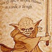 Master Yoda Wisdom Art Print