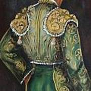 Matador In Green Art Print