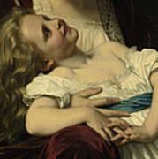 Maternal Affection Detail Art Print