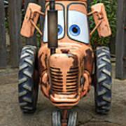 Mater's Tractor Art Print
