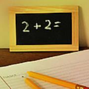 Math Frustration Art Print