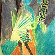 Matisse's Palm Leaf In Tangier Art Print