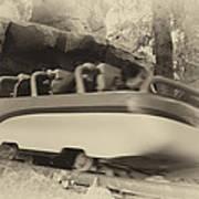 Matterhorn Bobsled Fantasyland Disneyland Heirloom Art Print