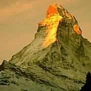 Matterhorn In Switzerland Art Print