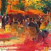 Maturing Sun, Paris Oil On Canvas Art Print