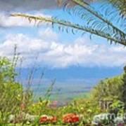 Maui Botanical Garden Art Print