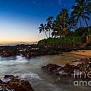 Maui Cove - Beautiful And Secluded Secret Beach. Art Print
