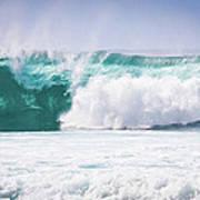 Maui Huge Wave Art Print by Denis Dore