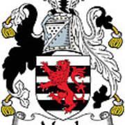 Maule Coat Of Arms Irish Art Print