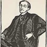 Maurice Barres, Copy By Boris Art Print