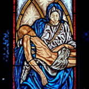 Mausoleum Window Art Print