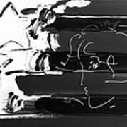 Max Stars And Stripes In Negative Art Print