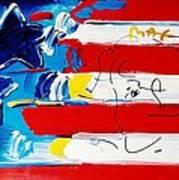 Max Stars And Stripes Art Print