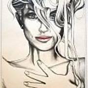 Maxine Art Print