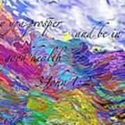 May You Prosper Art Print