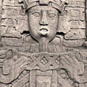 Maya Copan Art Print