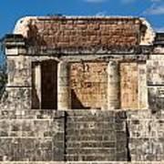 Mayan Palace Art Print