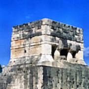 Mayan Ruins Art Print
