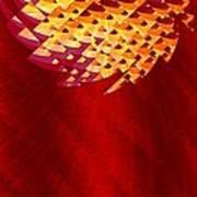 Mayan Sun Art Print