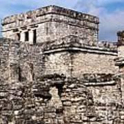 Mayan Tulum Art Print