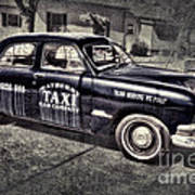 Mayberry Taxi Art Print