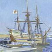 Mayflower At Birth Art Print
