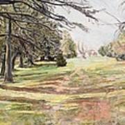 Maymont Landscape Art Print