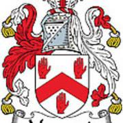 Maynard Coat Of Arms Irish Art Print