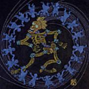 Maypole Dance Art Print
